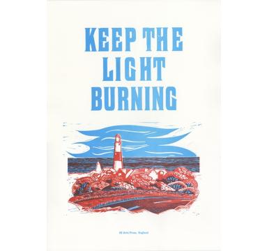 Helen Ingham - Keep The Light Burning - courtesy of TAG Fine Arts