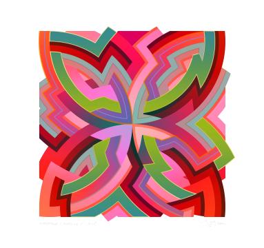 Chuck Elliott - interStella - Quad 1.2 - courtesy of TAG Fine Arts