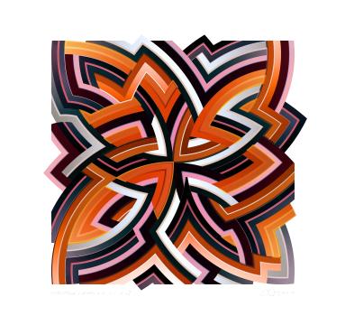 Chuck Elliott - interStella - Quad 4.2 - courtesy of TAG Fine Arts
