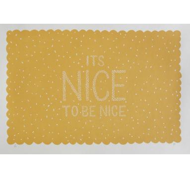 Hazel Nicholls - It's Nice To Be Nice - courtesy of TAG Fine Arts