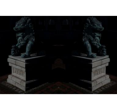 Jamie Lau - Lions Double - courtesy of TAG Fine Arts