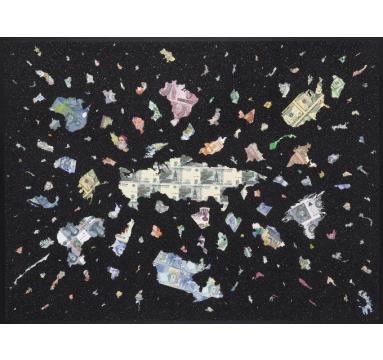 Justine Smith - A Bigger Bang - Diamond Dust - courtesy of TAG Fine Arts