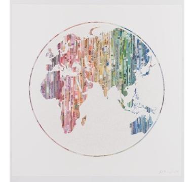 Justine Smith - New World Order - courtesy of TAG Fine Arts
