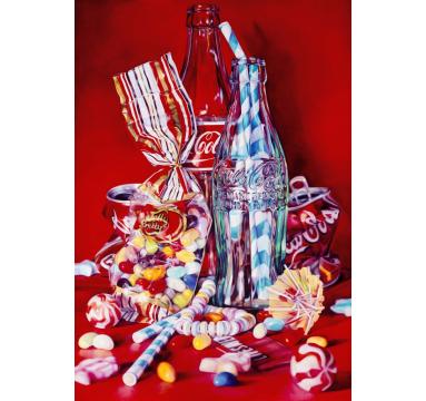 Kate Brinkworth - Coke, Lifesavers and Jelly Beans - courtesy of TAG Fine Arts