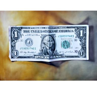 Kate Brinkworth - Dollar Bill (Front) - courtesy of TAG Fine Arts