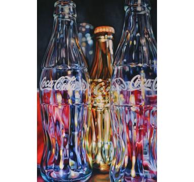 Kate Brinkworth - Golden Coca-Cola - courtesy of TAG Fine Arts