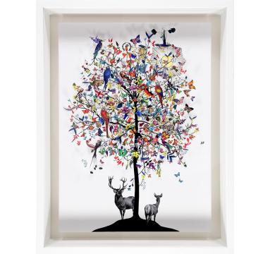 Kristjana S Williams - International Tree 3D Sun - courtesy of TAG Fine Arts