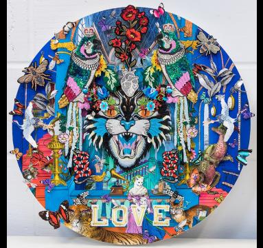 Kristjana S Williams - Love - Courtesy of TAG Fine Arts