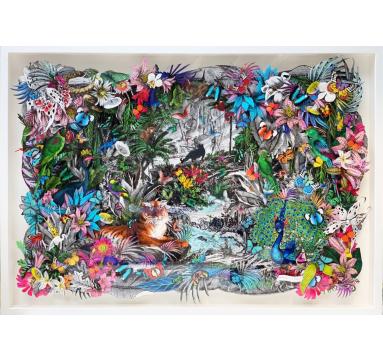 Kristjana S Williams - The Ink Tiger Forest - courtesy of TAG Fine Arts