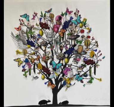 Kristjana S Williams - Trausta Turtle Tree - Courtesy of TAG Fine Arts