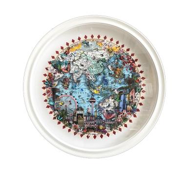 Kristjana S Williams - Singjandi Holur Blue Ocean Original - courtesy of TAG Fine Arts