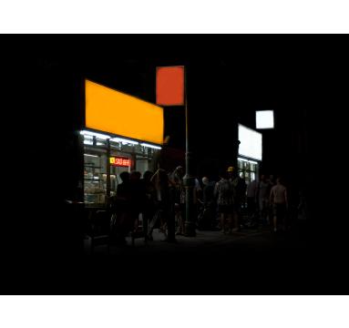 Jamie Lau - Nighthawks (from 'The Dark Ages I' series) - TAG Fine Arts