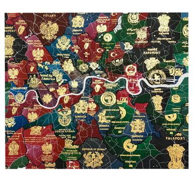 London Passport Map 2021