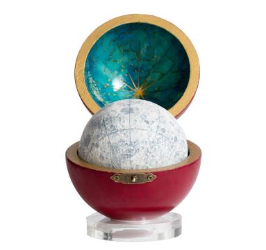 Loraine Rutt - New Moon Red Nappa Case - courtesy of TAG Fine Arts