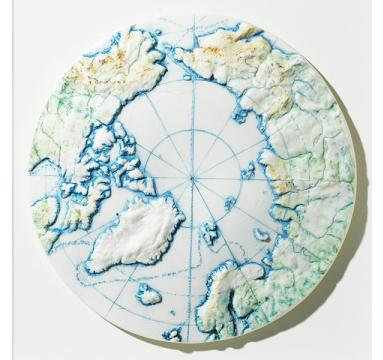 Loraine Rutt - Poles Apart: Arctic - courtesy of TAG Fine Arts