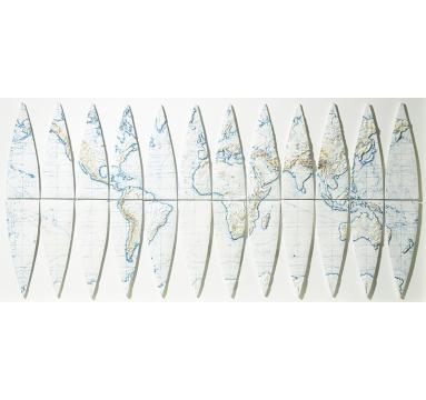 Loraine Rutt - Segment: Earth - courtesy of TAG Fine Arts