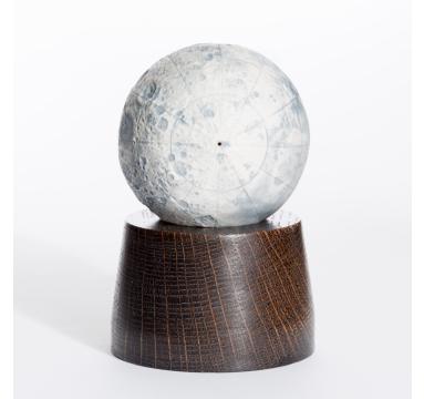 Loraine Rutt - New Moon (Black Oak Plinth) - courtesy of TAG Fine Arts