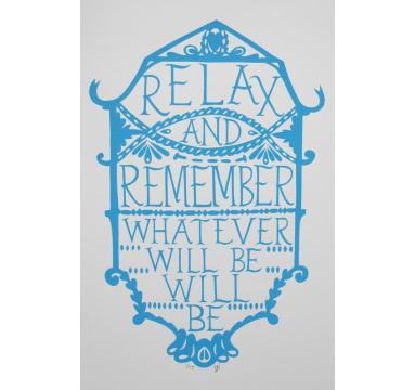 Hazel Nicholls - Relax & Remember courtesy of TAG Fine Arts