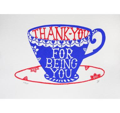 Hazel Nicholls - Thank You courtesy of TAG Fine Arts
