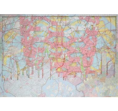 Emma Johnson - NYC (VESSEL) II (Homage to Heatherwick) – Pink  - courtesy of TAG Fine Arts