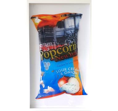 Perish The Thought - Popcorn (Light Blue) - courtesy of TAG Fine Arts