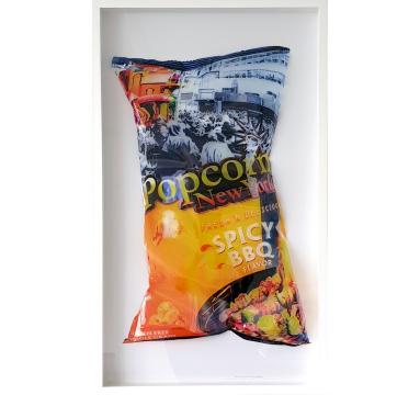 Perish The Thought - Popcorn (Orange) - courtesy of TAG Fine Arts