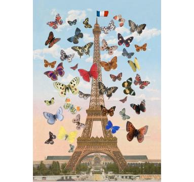Peter Blake - Eiffel Tower (Lenticular) - courtesy of TAG Fine Arts