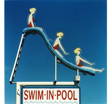 Richard Heeps - Swim-In-Pool - courtesy of TAG Fine Arts