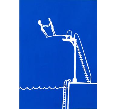 Rob Ryan - Diving Board - courtesy of TAG Fine Arts