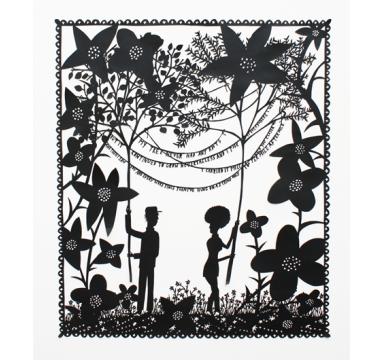 Rob Ryan - My Tree Never Had Any Roots... courtesy of TAG Fine Arts