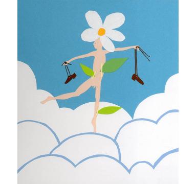 Rob Ryan - Portrait As A Flower - courtesy of TAG Fine Arts