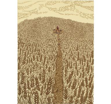 Rob Ryan - Wheat Field - courtesy of TAG Fine Arts