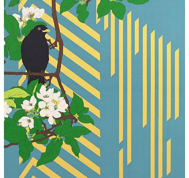 Robin Duttson - Apple Blossom Graphic Impression 3 - courtesy of TAG Fine Arts