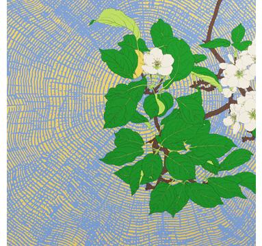 Robin Duttson - Apple Blossom Graphic Impression 4 - courtesy of TAG Fine Arts