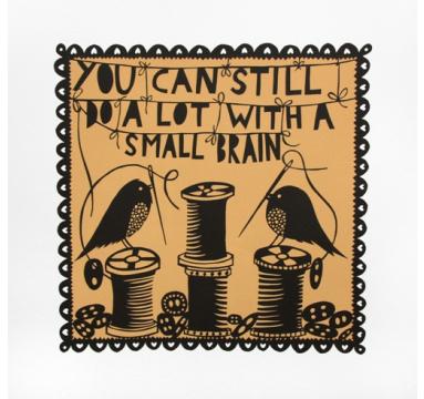 Rob Ryan - You Can Still Do A Lot - courtesy of TAG Fine Arts