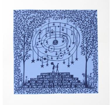 Rob Ryan - Moons Circle Planets -  courtesy of TAG Fine Arts