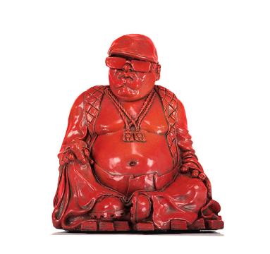 Ryan Callanan - Buddha Smalls (Red) - courtesy of TAG Fine Arts