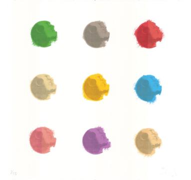 Ryan Callanan - Death Dots 9 - courtesy of TAG Fine Arts