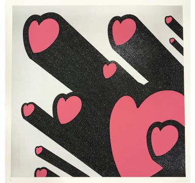 Ryan Callanan - Heart Beams - courtesy of TAG Fine Arts