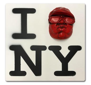 Ryan Callanan - I BIGGIE (HEART) NY - courtesy of TAG Fine Arts