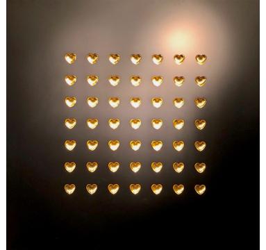 Ryan Callanan - Love Is The Drug (Gold Hearts) - courtesy of TAG Fine Arts