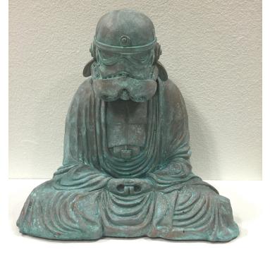 Mini Zen Trooper (Copper Patina)