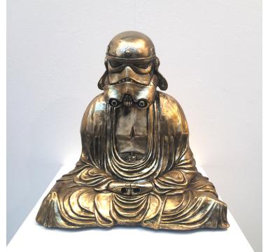 Zen Trooper (Gold Chrome)