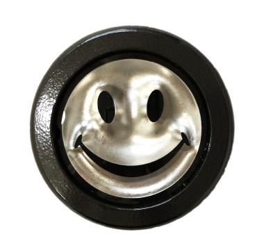 Ryan Callanan - Mini Platinum Smiley - courtesy of TAG Fine Arts
