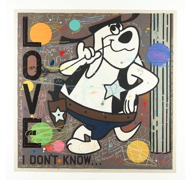 David Spiller - I Don't Know (Deputy Dawg) - courtesy of TAG Fine Arts