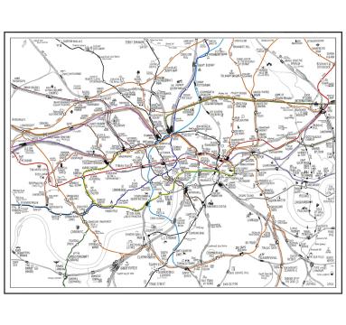 Stephen Walter - Inner London Rail - courtesy of TAG Fine Arts