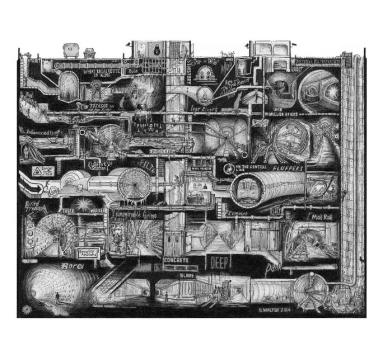 Stephen Walter - Subterranean Playground - courtesy of TAG Fine Arts