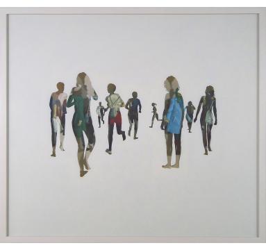 Steven - Glasswork (Re-Wilding) - courtesy of TAG Fine Arts