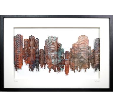 Sue Haskel - Skyline - courtesy of TAG Fine Arts