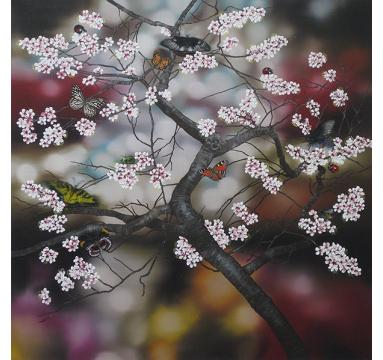Sumiko Seki - Enchantment Cherry Tree - courtesy of TAG Fine Arts